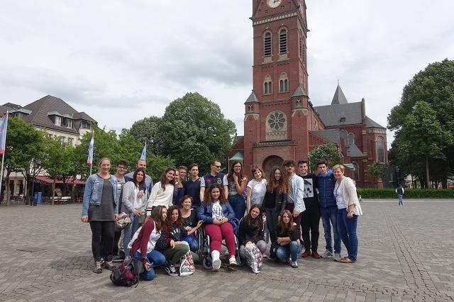 Schülergruppe aus Caltagirone zu Gast in Arnsberg